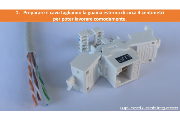Tutorial terminazione Keystone toolless
